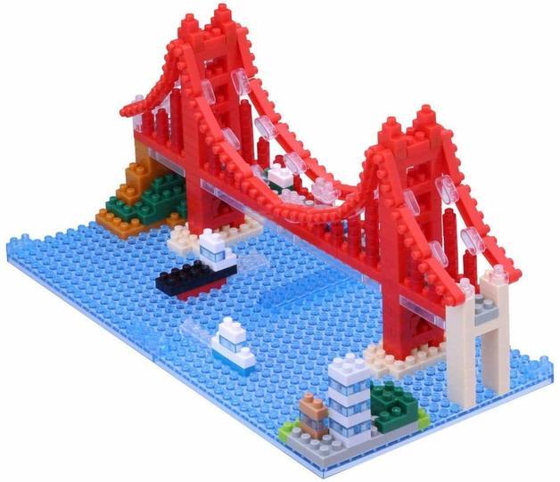 nanoblock: Sites To See - Golden Gate Bridge