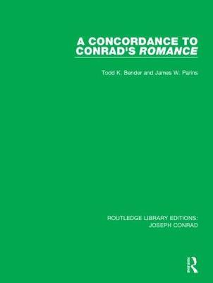 A Concordance to Conrad's Romance by Todd K. Bender