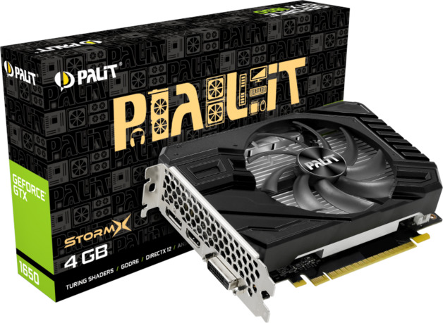 NVIDIA GeForce GTX 1650 StormX D6 4GB Palit GPU