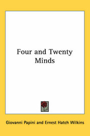 Four and Twenty Minds by Giovanni Papini image