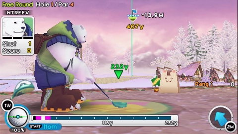 Pangya Fantasy Golf for PSP image