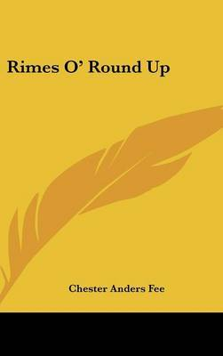 Rimes O' Round Up by Chester Anders Fee image