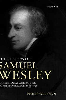 The Letters of Samuel Wesley by Samuel Wesley image