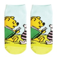 Disney: Pooh & Piglet Reading - Ladies Socks