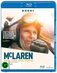 McLaren on Blu-ray