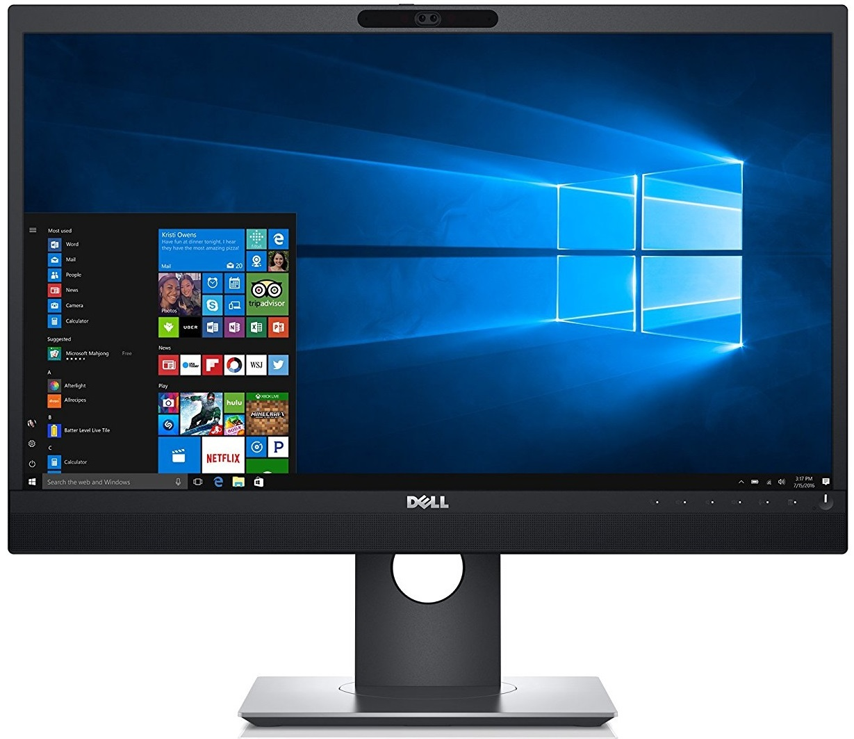 "24"" Dell P2418HZ Video Conferencing Monitor image"
