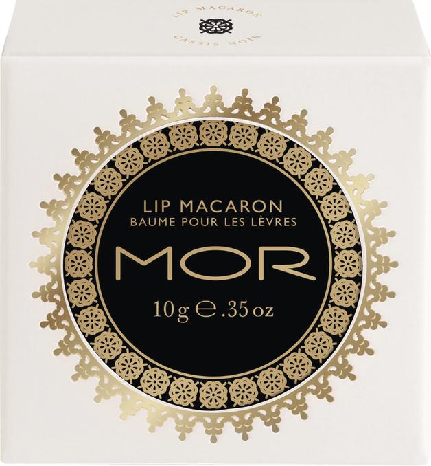 MOR Lip Macaron Cassis Noir (10g)