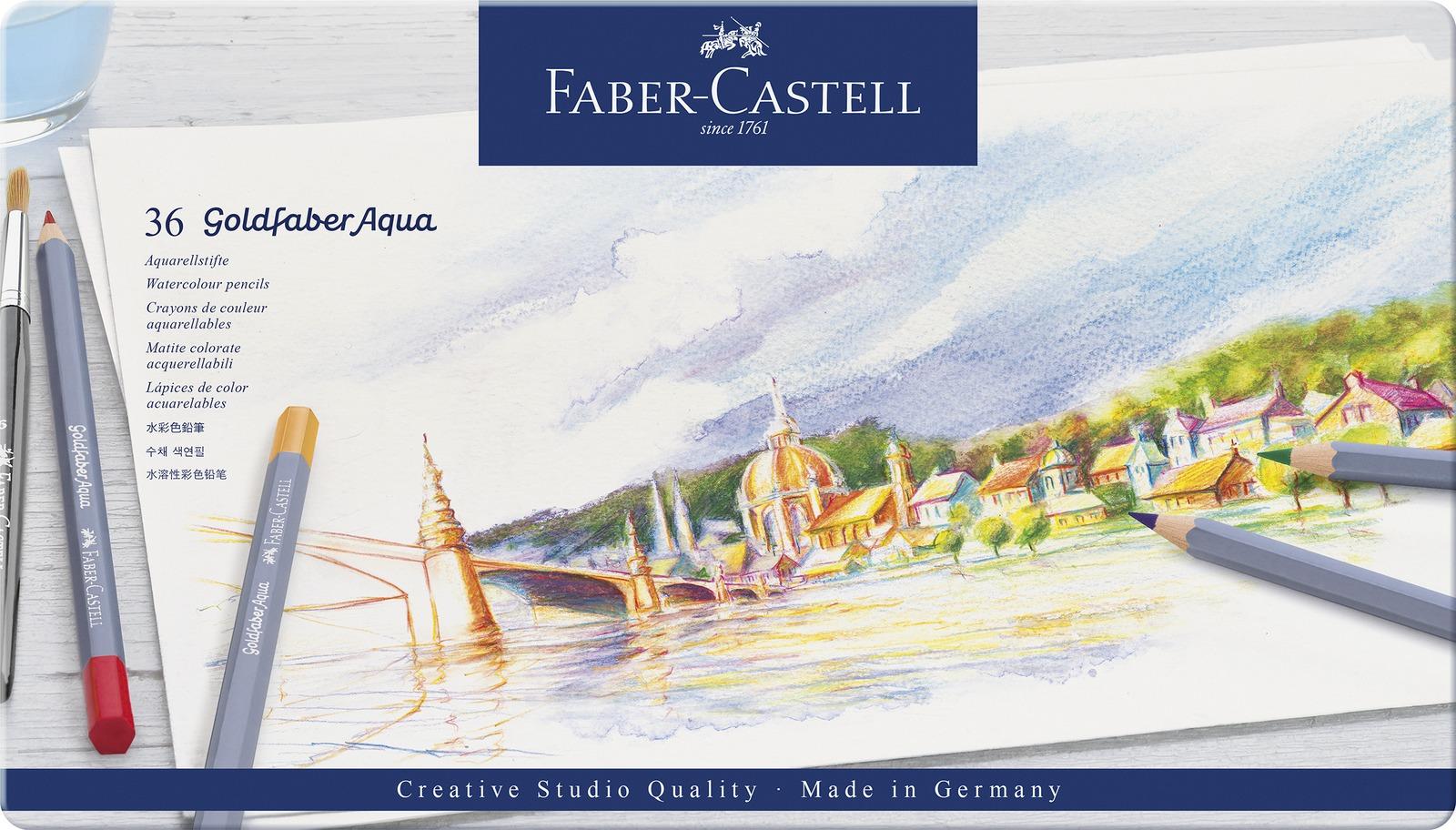 Faber-Castell: Goldfaber Aqua (Tin of 36) image
