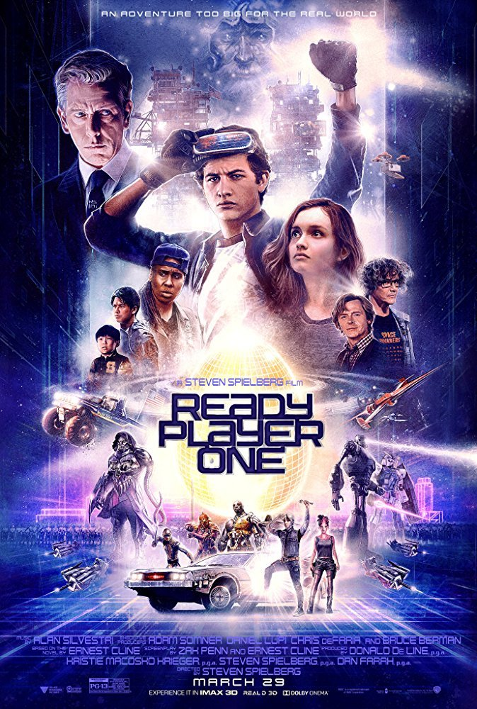 Ready Player One (3D Blu-ray) on 3D Blu-ray image