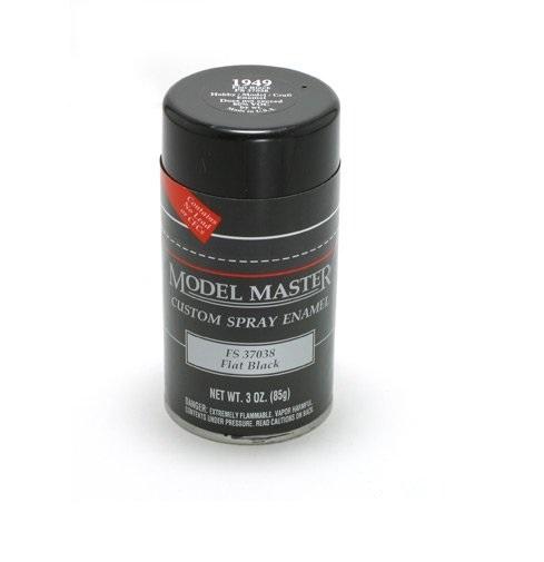 Model Master: Enamel Aerosol - Black (Flat)