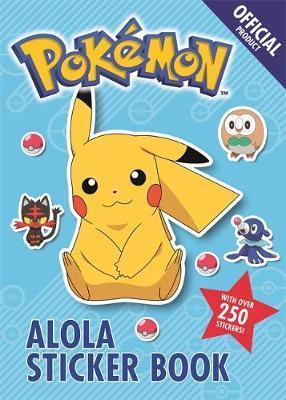 The Official Pokemon Alola Sticker Book by Pokemon