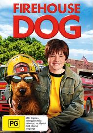 Firehouse Dog on DVD image