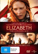 Elizabeth - The Golden Age on DVD