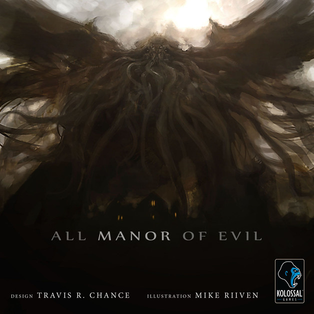 All Manor of Evil - Board Game