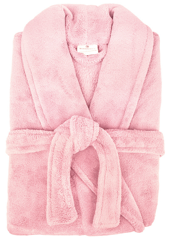 Bambury: Retreat Microplush Robe - Pink M/L