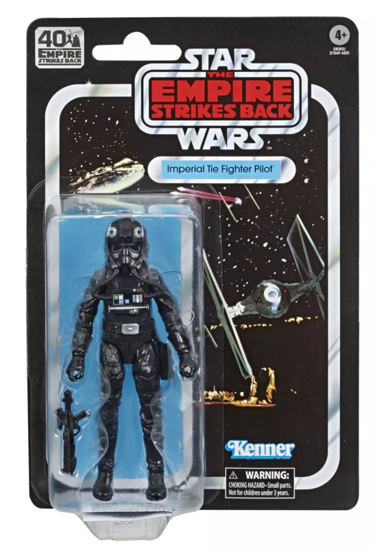 Star Wars: The Black Series Vintage Figure - Imperial TIE Fighter Pilot