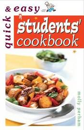 Quick and Easy Student's Cookbook by Molly Lodge image