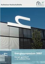 Energiesymposium 2007 image
