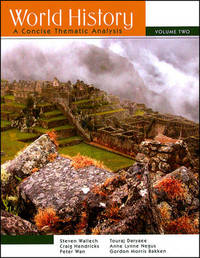 World History: A Concise Thematic Analysis: v. 2 by Steven Wallech image