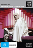 Abominable Dr Phibes on DVD