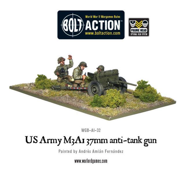 US Army 37mm Anti-Tank Team