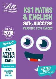 KS1 Maths and English SATs Practice Test Papers by Letts KS1 image