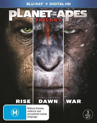 Planet Of The Apes - Trilogy Collection on Blu-ray image