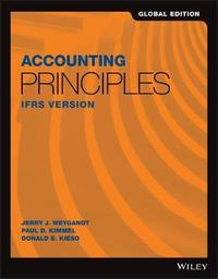 Accounting Principles IFRS Version by Jerry J. Weygandt