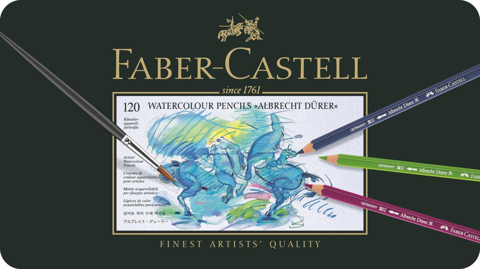 Faber-Castell: Albrecht Durer Pencil (Tin of 120) image