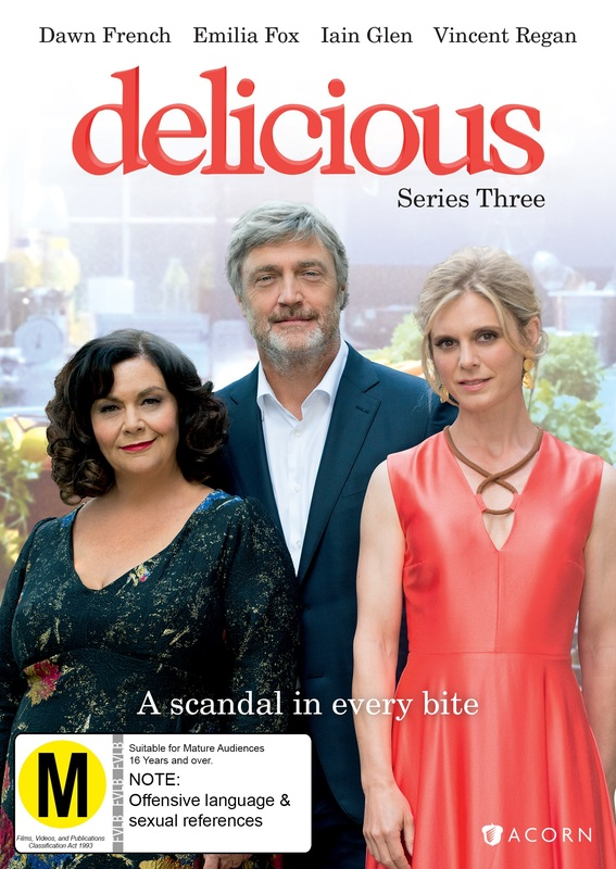 Delicious: Series 3 on DVD