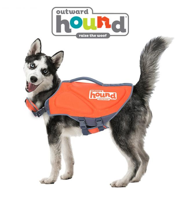 Outward Hound: Ripstop Life Jacket Orange - Xtra Small