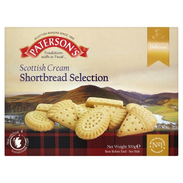 Paterson's Shortbread Selection 500g