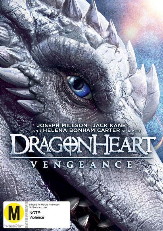 Dragonheart: Vengeance on DVD