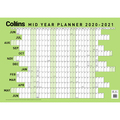 Collins: Large Mid Year Wallplanner