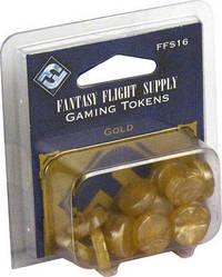 Fantasy Flight Supply: Gold Gaming Tokens by Fantasy Flight Games