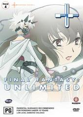 Final Fantasy Unlimited - Phase 4 on DVD