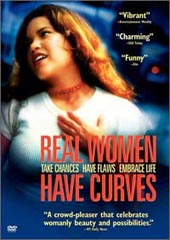 Real Women Have Curves on DVD