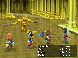 Final Fantasy III for Nintendo DS image