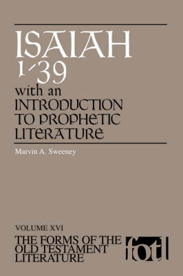 Isaiah 1-39 by Marvin A. Sweeney
