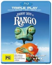 Rango on DVD, Blu-ray