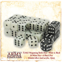 Army Painter Wargamer Dice: White