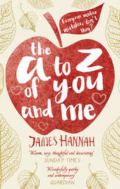 The A to Z of You and Me by James Hannah image