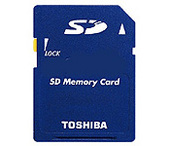 Toshiba SD Memory Card 1Gb