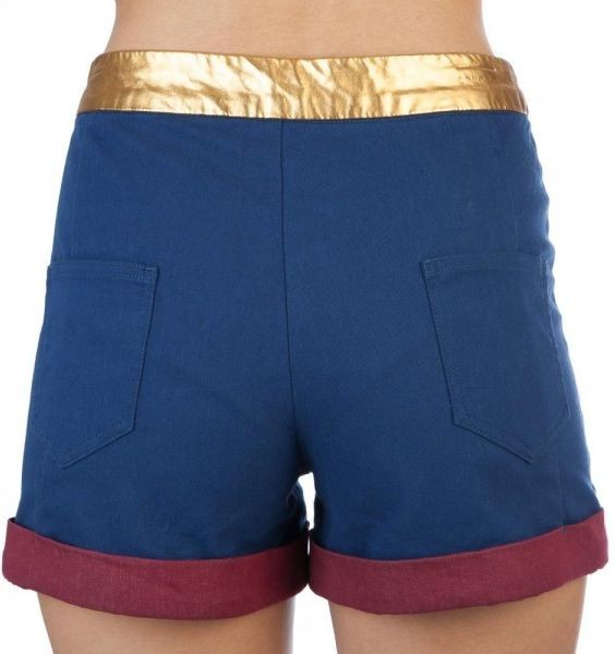 DC Comics: Wonder Woman - High Waisted Shorts (Large) image