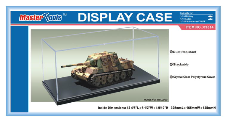 Trumpeter: Master Tools - Display Case (325 x 165 x 125mm) image