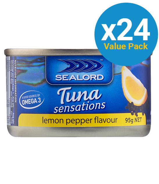 Sealord: Tuna Sensations - Lemon Pepper 95g (24 Pack) image