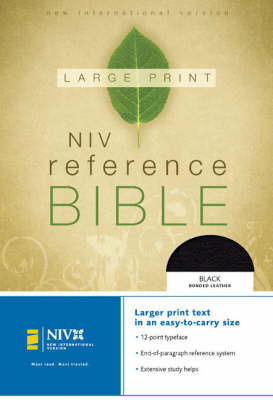 NIV Reference Bible: Personal Size by Zondervan Publishing