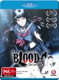 Blood-C: The Last Dark (Movie) on Blu-ray