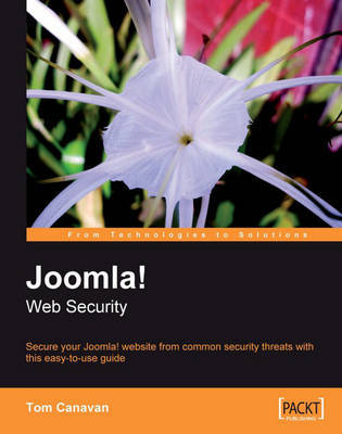 Joomla! Web Security by Tom Canavan image