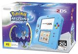 Nintendo 2DS with Pokemon Moon for Nintendo 3DS